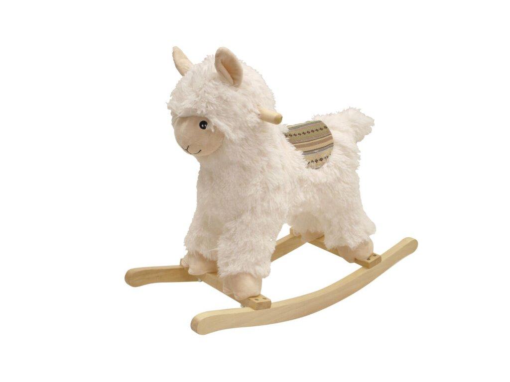EUROBABY Houpací kůň s efekty - Růžový