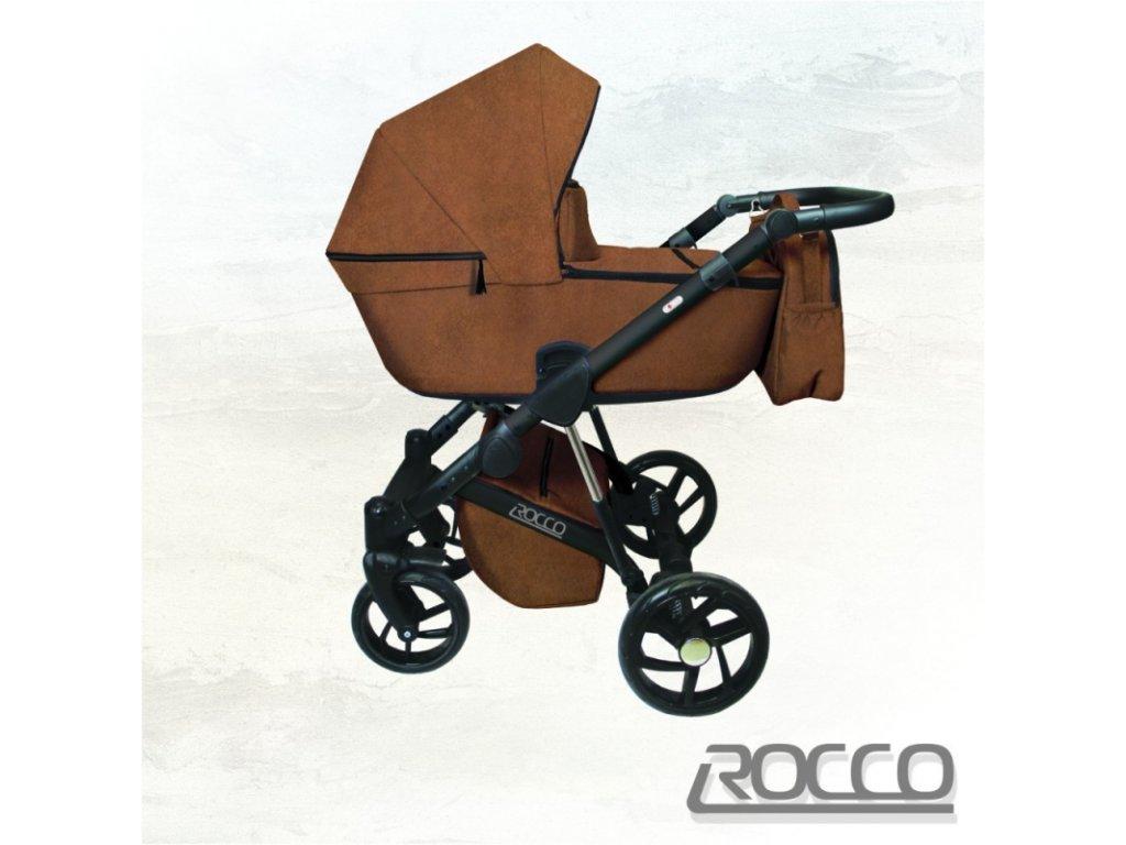 Dorjan kombinovaný kočárek Rocco Ecco, 01 Ginger