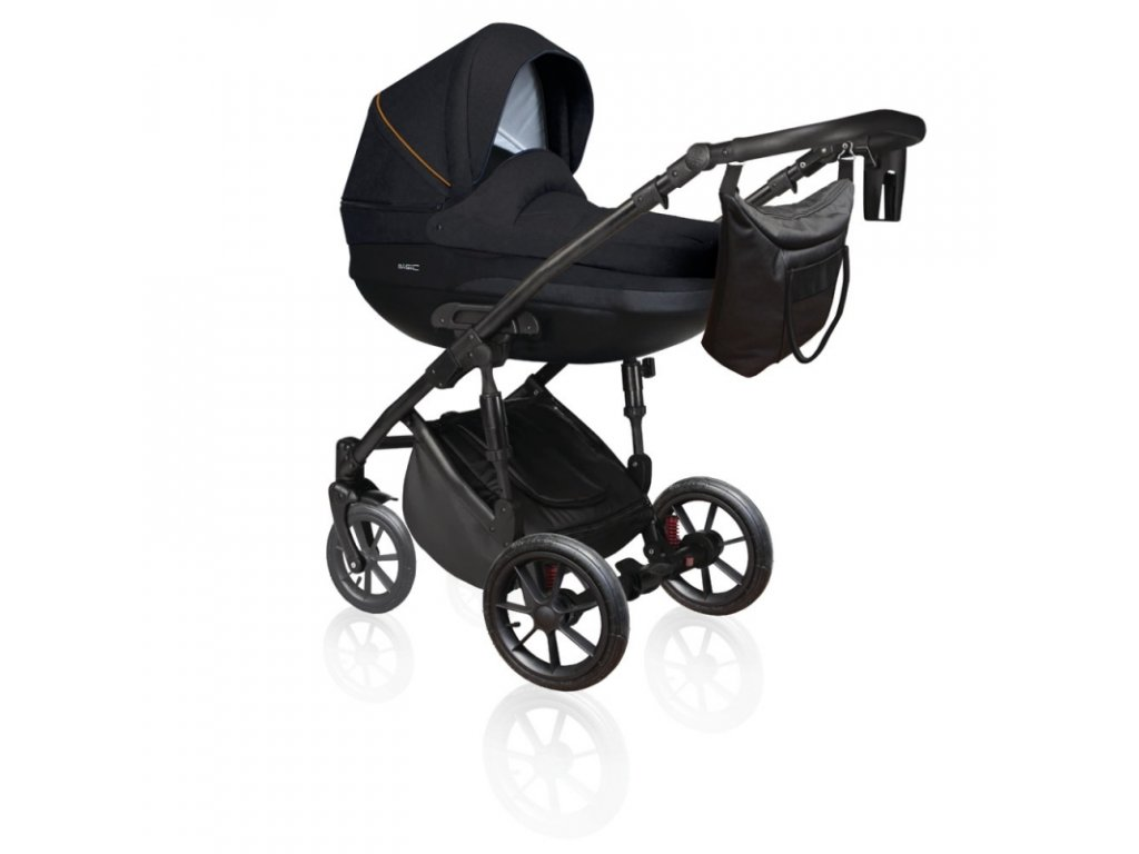 DorJan kombinovaný kočárek Basic Comfort VIP 2020 - Deep blue