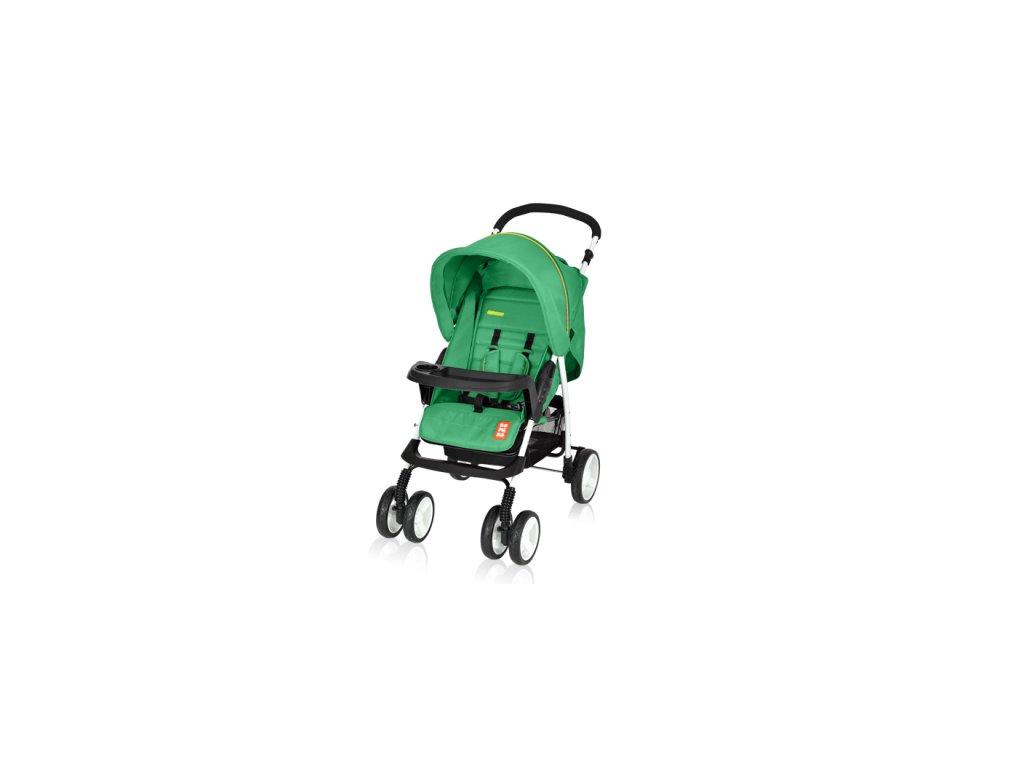 Bomiko golfový kočárek Model L 2019 - 04 zelený  + Reflexní náramek zdarma