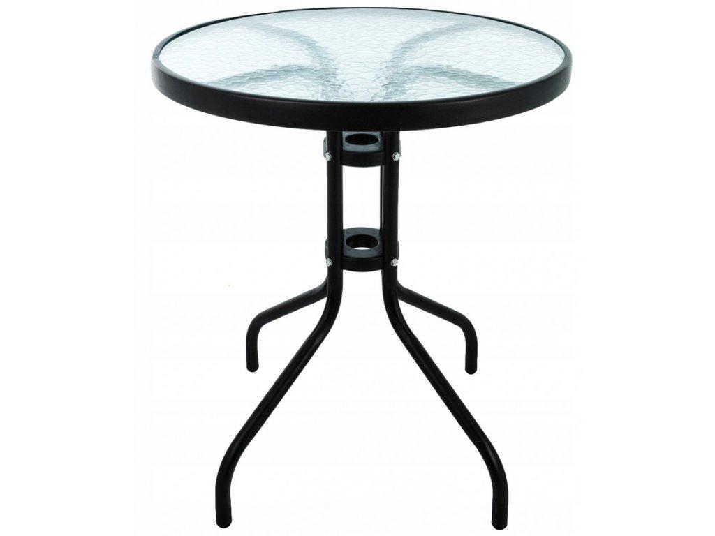 Campela ratanový stůl CA0007T, černý
