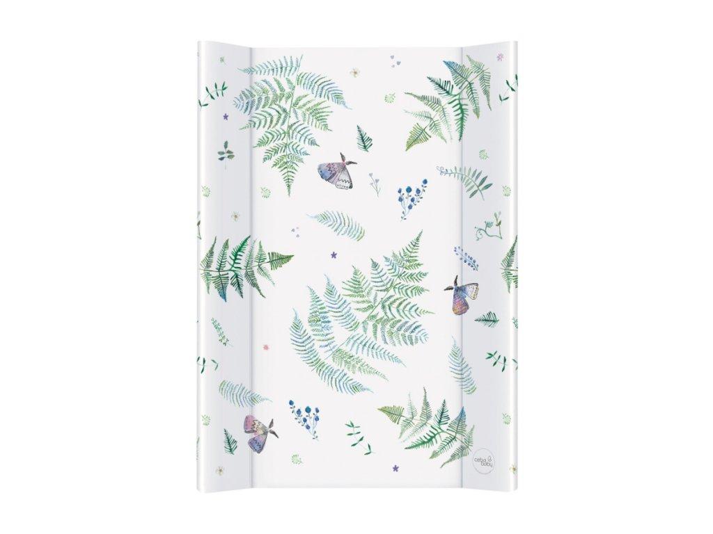 CEBA BABY Přebalovací podložka s pevnou deskou 70x50cm - Animals