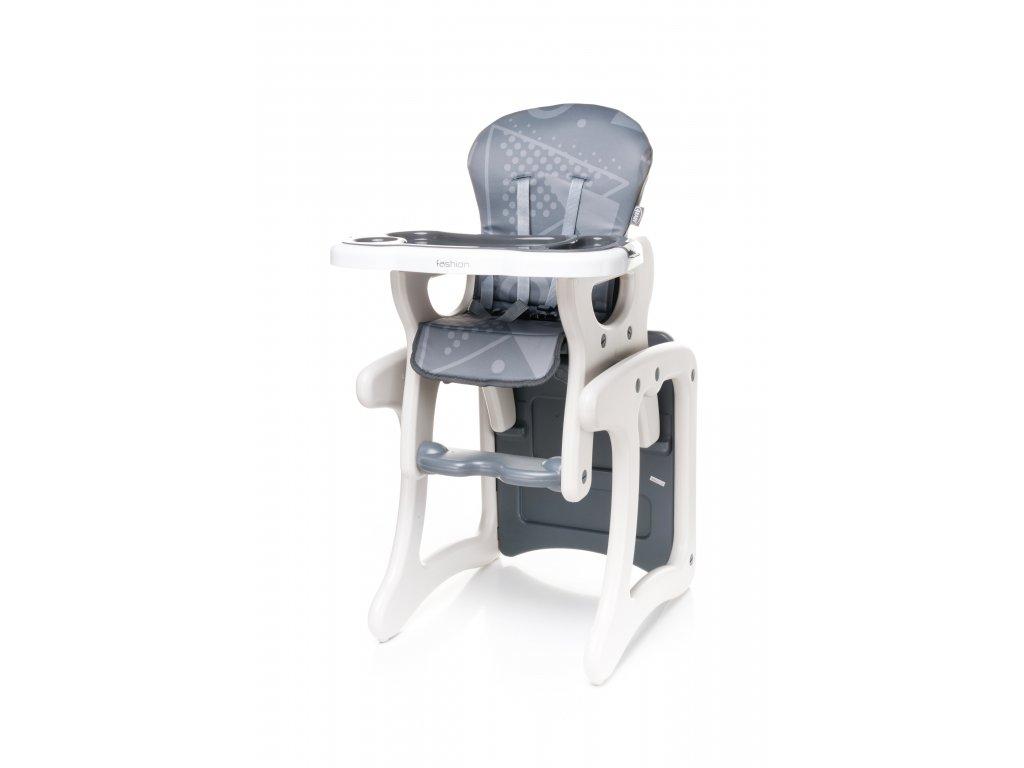 4Baby jídelní židlička Fashion 2019 - Grey