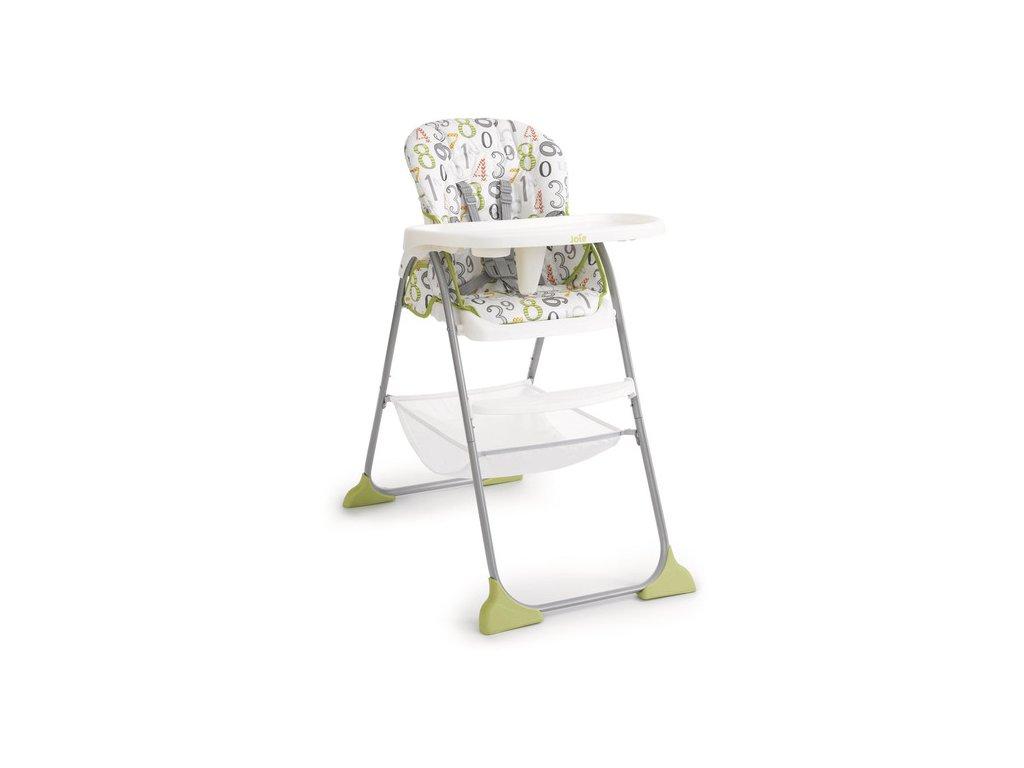 Joie jídelní židlička Mimzy Snacker - 123 artwork