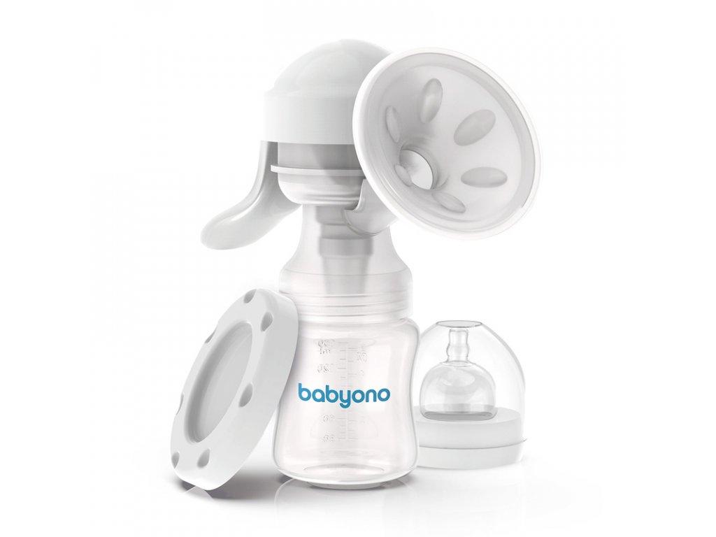 BABY ONO Odsávačka mateřského mléka ruční páková - 301 Anatomy