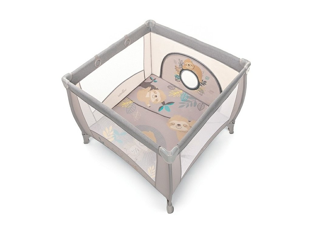 Baby Design ohrádka PLAY UP 2020 - 09 beige