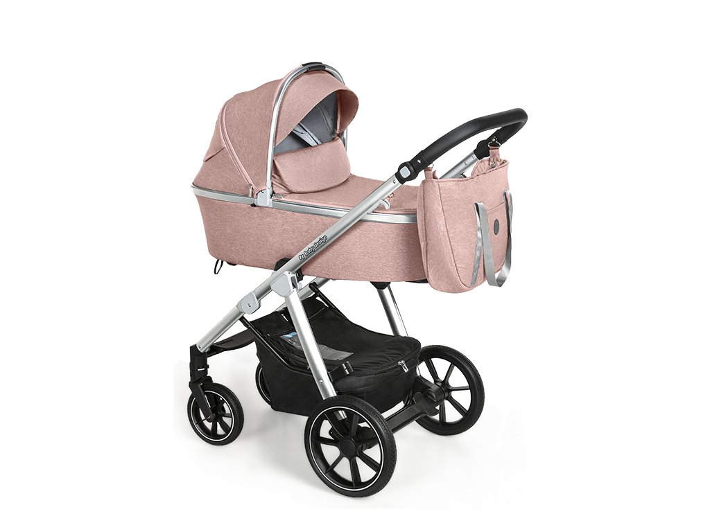Baby Design kombinovaný kočárek Bueno, 08 pink