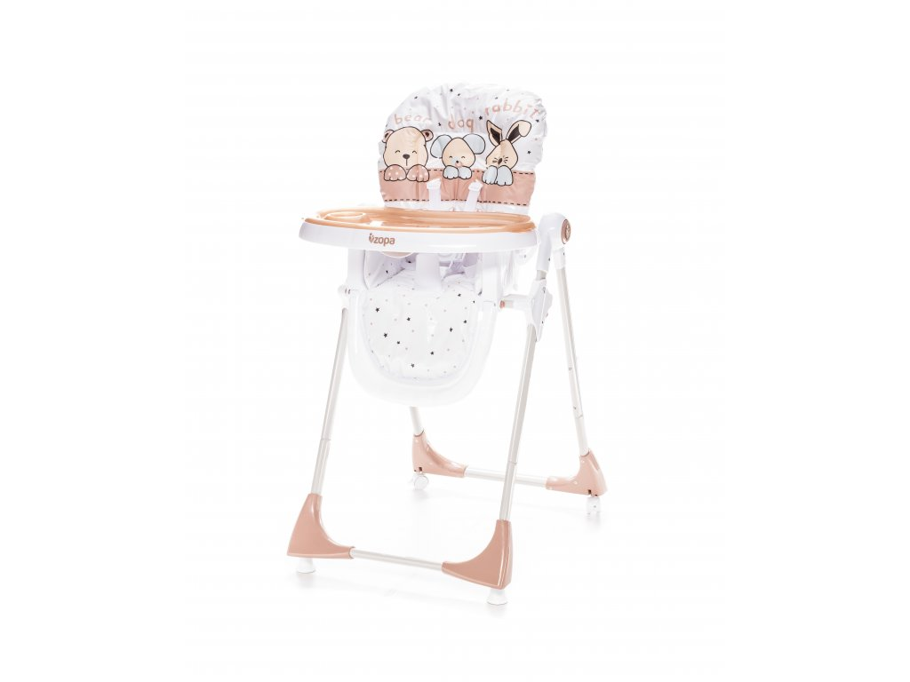 Dětská židlička Monti, Animal Beige