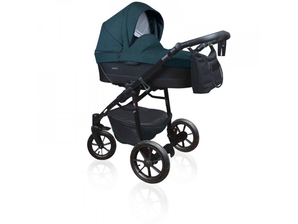 DorJan kombinovaný kočárek Basic Comfort 2020 - Anthracite