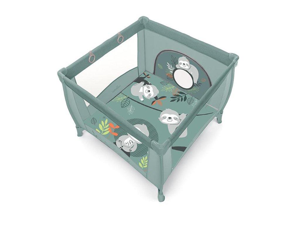 Baby Design ohrádka PLAY UP - 04 green