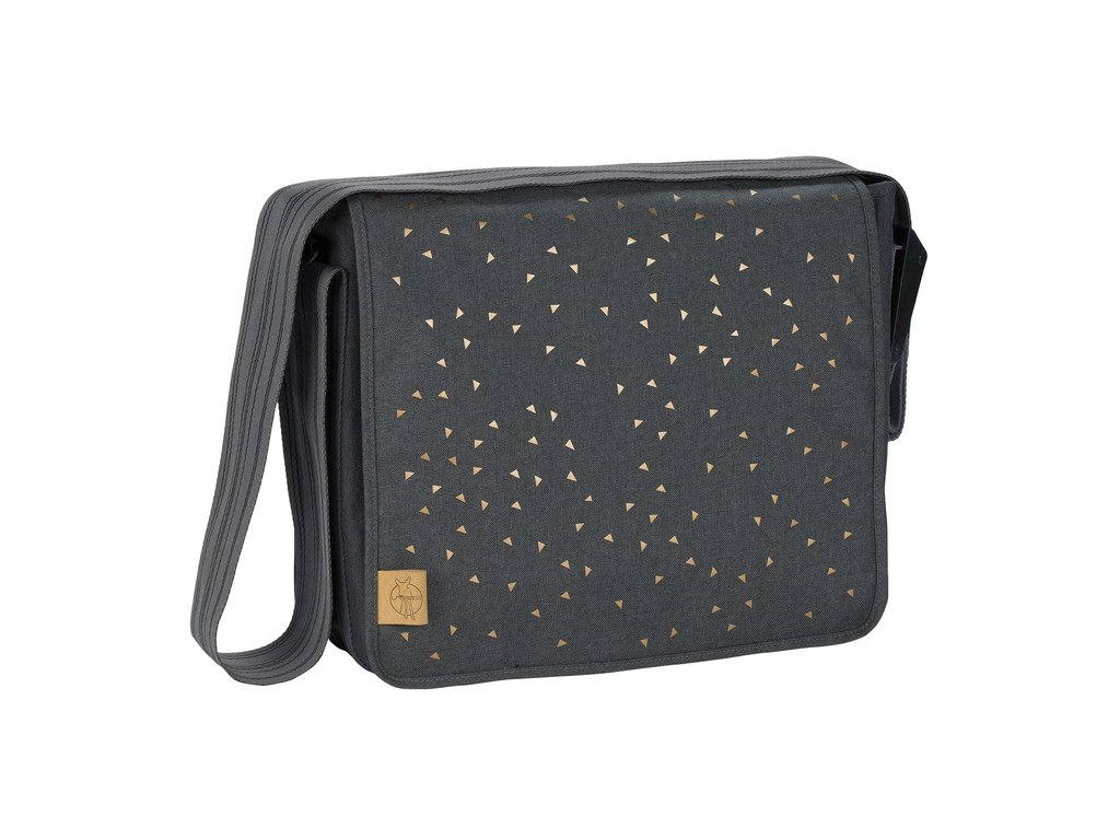 Casual Messenger Bag - Triangle dark grey