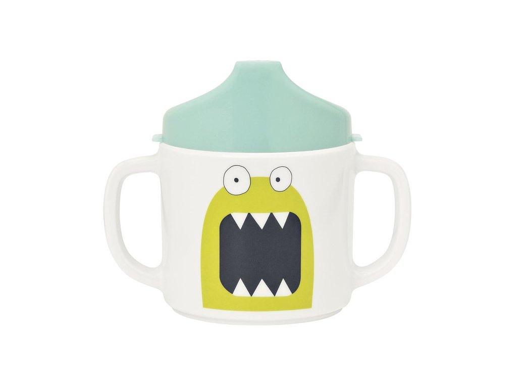 Lässig dětský hrneček - Little Monsters bouncing bob