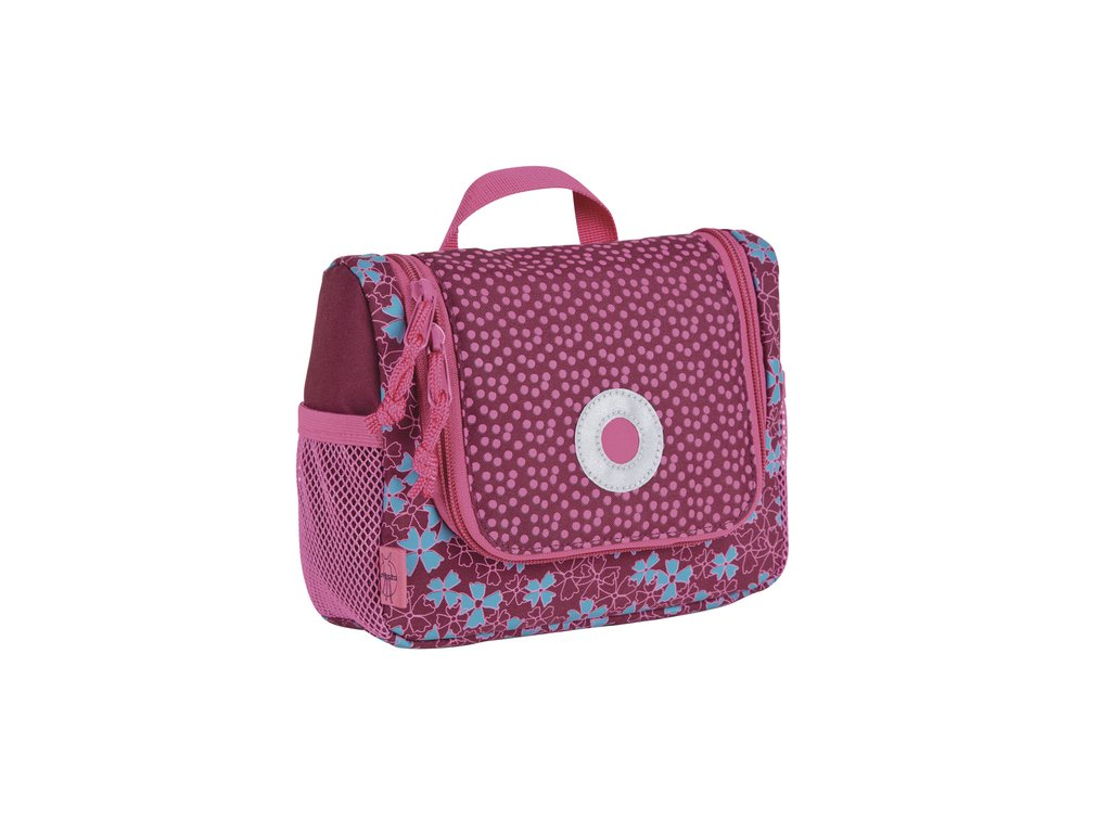 Lässig taštička na hygienu Mini Washbag - Blossy pink