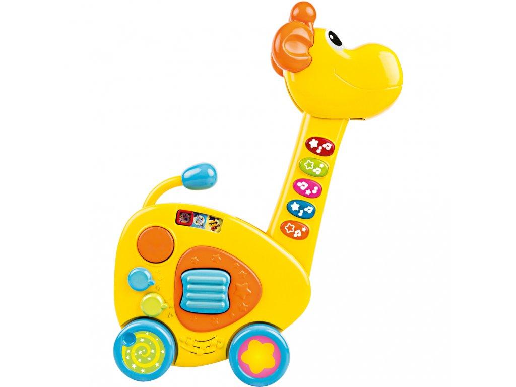 Buddy Toys dětská kytara Žirafa