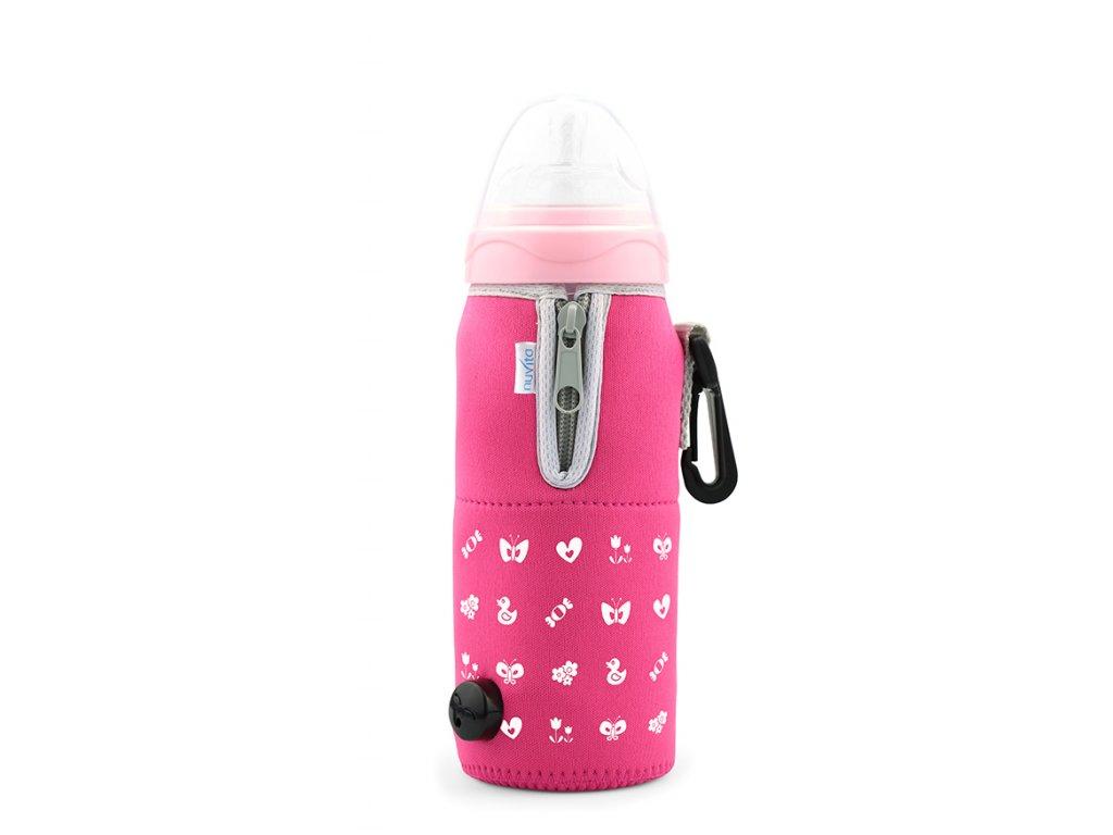Cestovní ohřívač lahve se zipem, Pink