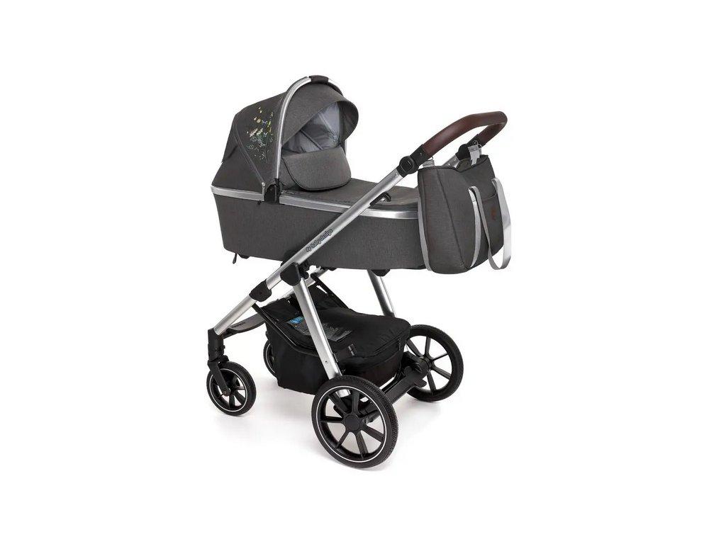 Baby Design kombinovaný kočárek Bueno, 117  + Reflexní náramek zdarma