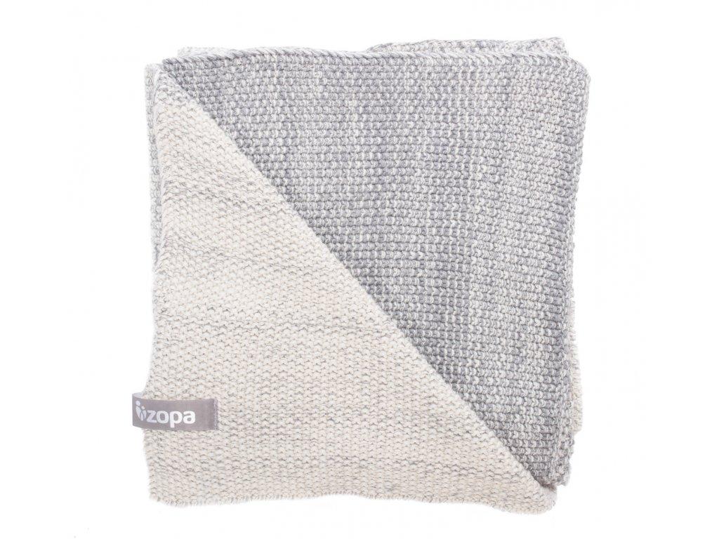 Dětská deka Melange, Grey