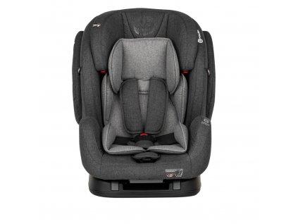 Petite&Mars autosedačka Prime II Isofix (9-36kg) 2019  - Grey
