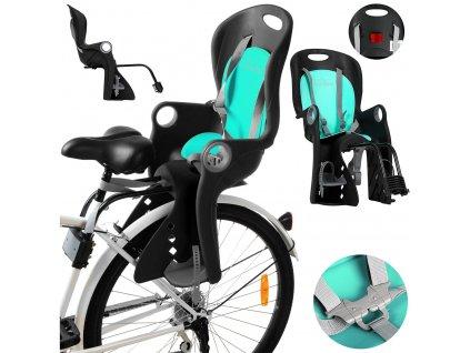 CAMPELA cyklosedačka pro jízdní kola - modrá