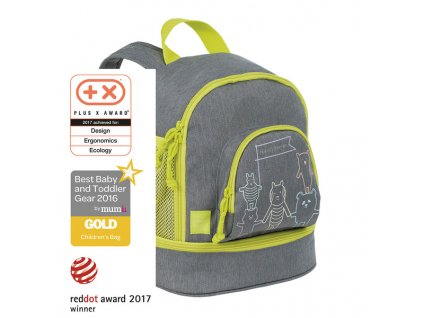 Lässig dětský batoh Mini Backpack About Friends - mélange grey