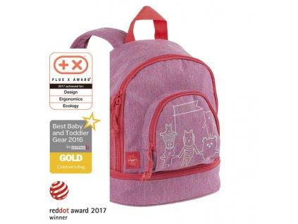 Lässig dětský batoh Mini Backpack About Friends - mélange pink
