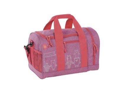 Lassig sportovní taška Mini Sportsbag About Friends, mélange pink