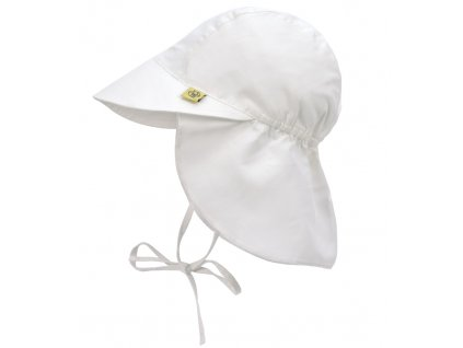Sun Flap Hat white 09-12 mo.