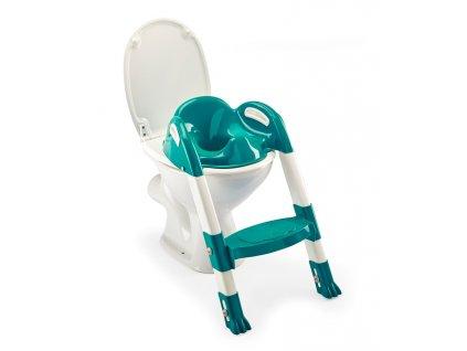 Židlička na WC Kiddyloo, Deep Peacock
