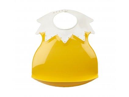 Plastový bryndák s límcem, Pineapple