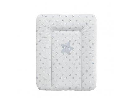 Ceba Baby přebalovací podložka měkká 70x50cm - Hvězdy šedá