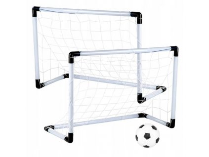 Kinderplay Dětské fotbalové branky 2v1 - 180x120cm