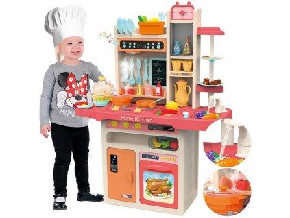 Kinderplay dětská kuchyňka Home Kitchen, červená