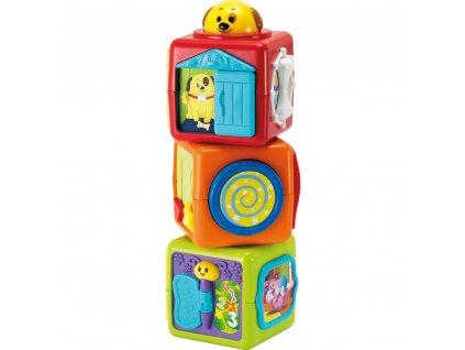 Buddy Toys interaktivní kostky zvířátka