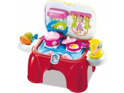 Buddy Toys cestovní dětská kuchyňka