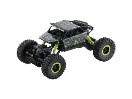 Buddy Toys RC auto na ovládání Rock Climber - zelená