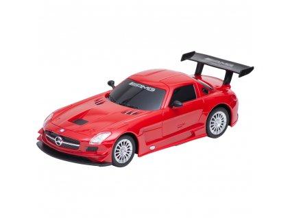 Buddy Toys RC auto na ovládání Mercedes-Benz SLS - červená