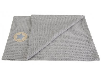 deka vafle 70x100 sv. šedá