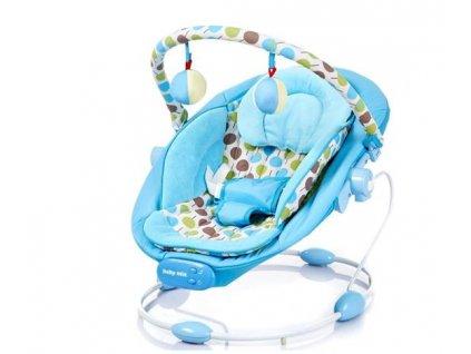 Alexis dětské lehátko - modrá
