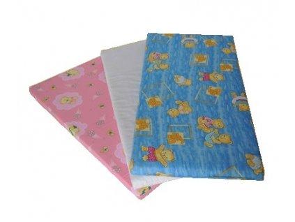 Marini dětská matrace molitan 140 x 70 x 6 cm - barevná s potiskem