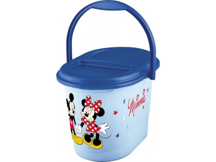 "Koš na pleny ""Mickey&Minnie"", Modrá"