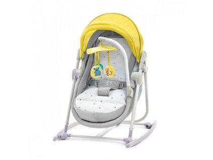 Kinderkraft lehátko 5v1 Unimo 2019 - Light yellow