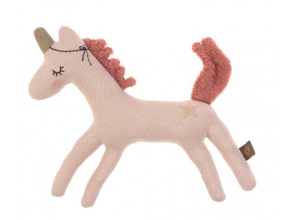 Knitted Toy with Rattle/Crackle More Magic horse