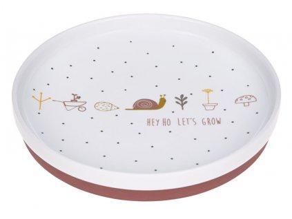 Plate Porcelain Garden Explorer girls