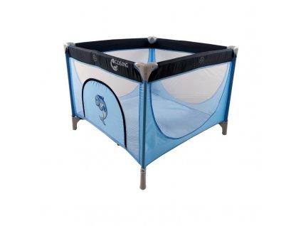 Cosing cestovní ohrádka Ema - Dolphin blue