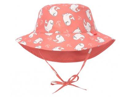 Sun Bucket Hat seal 18-36 mo.