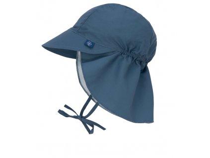 Sun Flap Hat navy 18-36 mo.