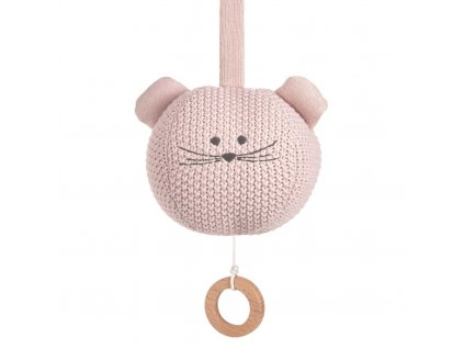 Knitted Musical Little Chums mouse