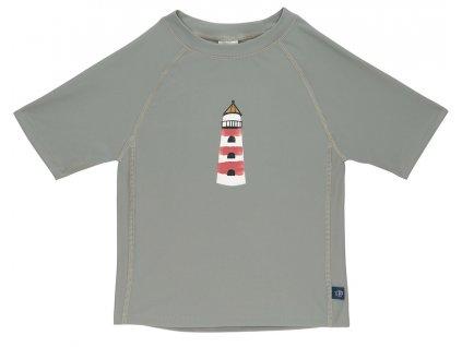 Short Sleeve Rashguard lighthouse 12 mo.