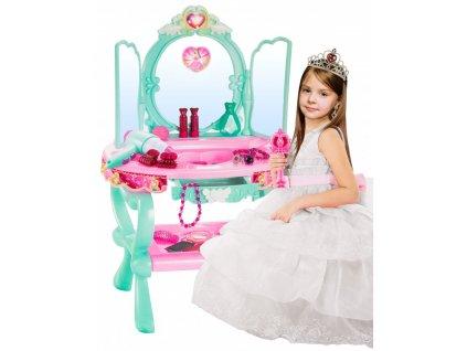 Kinderplay dětský toaletní stoleček s MP3 přehrávačem