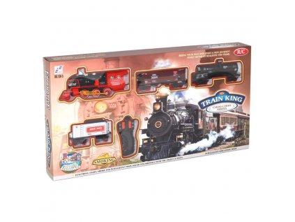 """Wiky RC vlak """"Train King"""" se světlem a kouřem"""